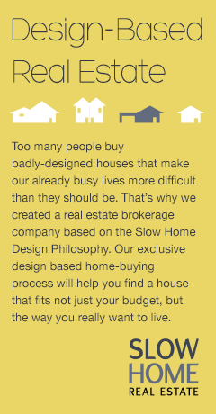 buy a slow home - Slow Home Design