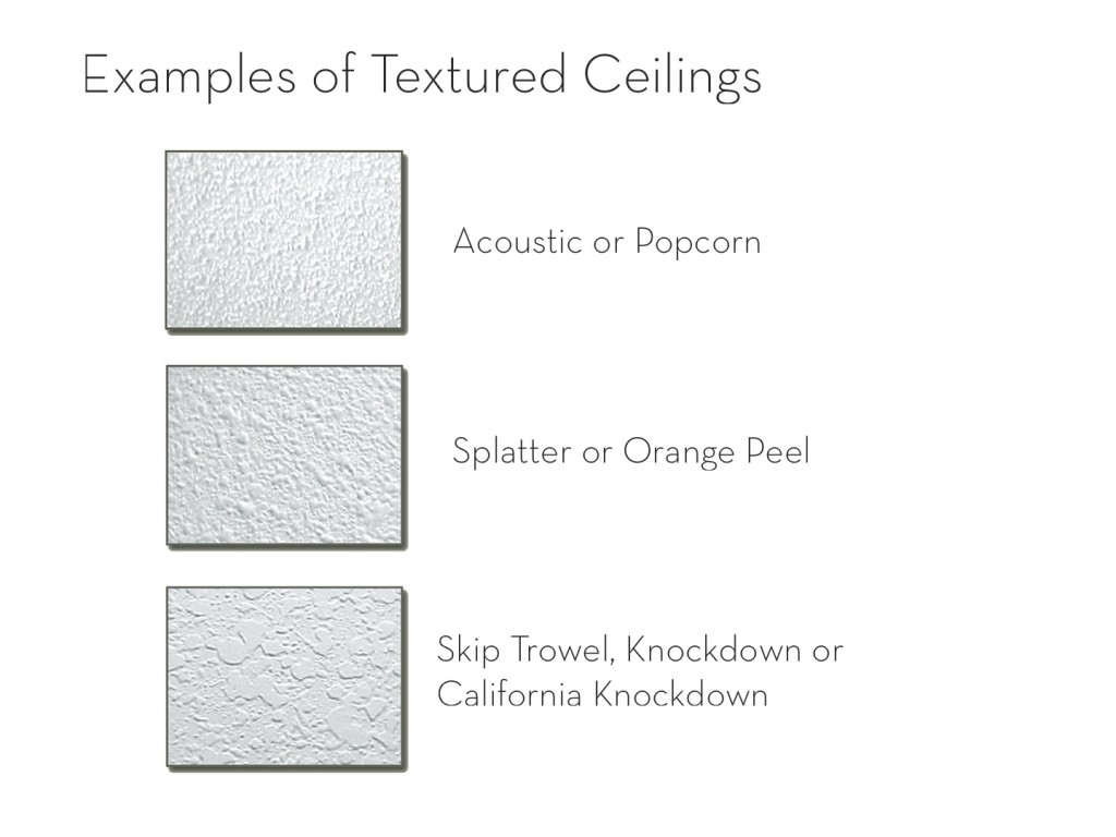 What Can You Do About Your Stippled Ceilings