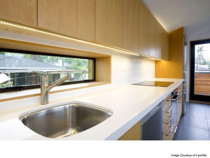 Alternatives to Tile Backsplashes in a Kitchen | Slow Home Studio