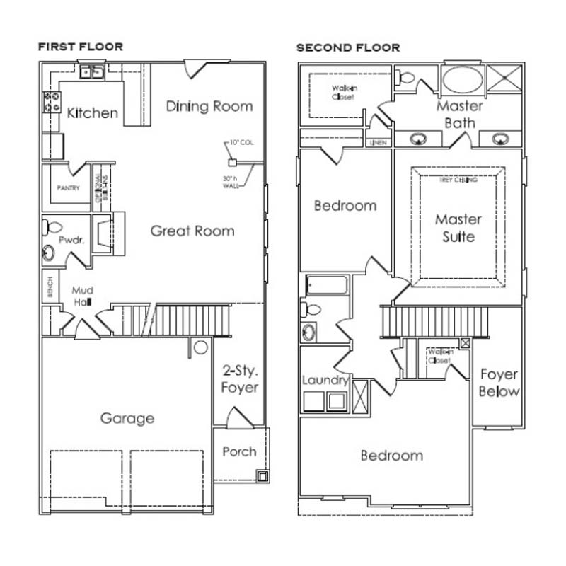 Evaluating Single Family Homes In Atlanta – Happy Days House Floor Plan