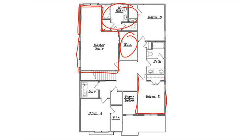 An in depth look at single family homes in atlanta slow home studio L shaped master bedroom layout