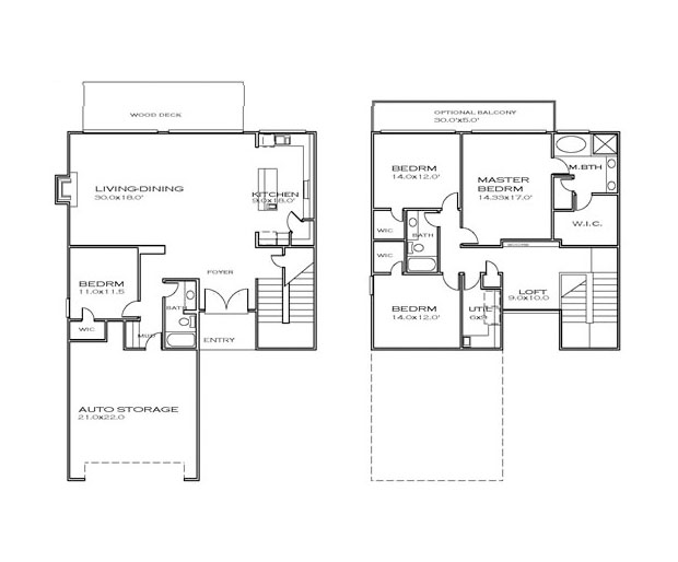 Small Cube House Floor Plan