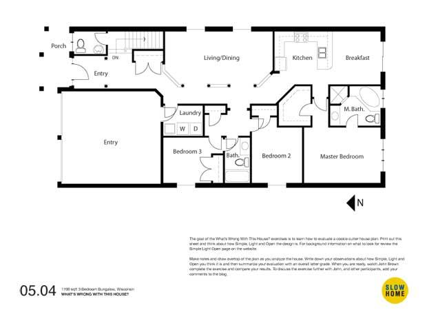 1700 sqft 3 Bedroom Bungalow, Wisconsin | 1700 sqft 3 Bedroom Bungalow